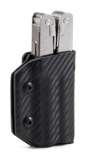 Multitool Halter für Victorinox Swiss Tool, schwarz, Clip&Carry