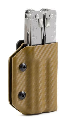 Multitool Halter für Victorinox Swiss Tool, braun, Clip&Carry