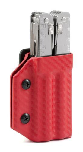 Multitool Halter für Victorinox Swiss Tool, rot, Clip&Carry