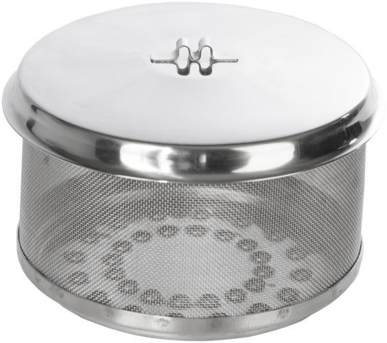 Ersatz-Kohlebehälter für Teide / Santorin Grill, mit Deckel, Original Feuerdesign