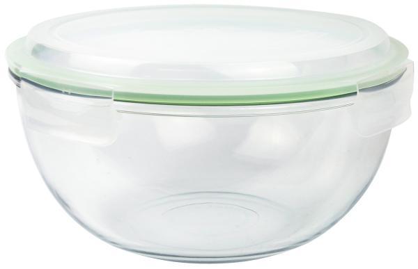 Glasslock Bowl 4000ml, Glasschüssel rund plus